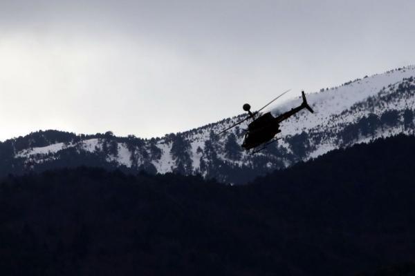Ελικόπτερα στο Λιτόχωρο