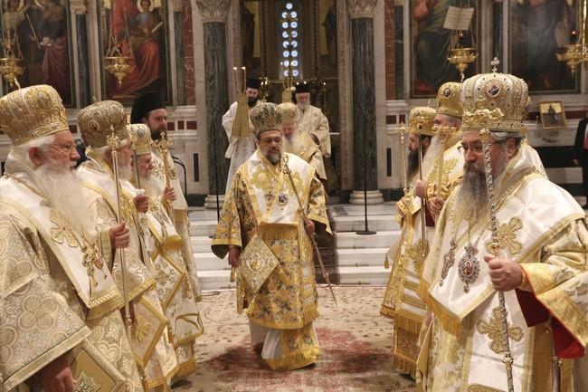 Με λαμπρότητα εορτάστηκε η Κυριακής της Ορθοδοξίας στον Μητροπολιτικό Ναό Αθηνών παρουσία του Προέδρου της Δημοκρατίας.... (εικόνες)