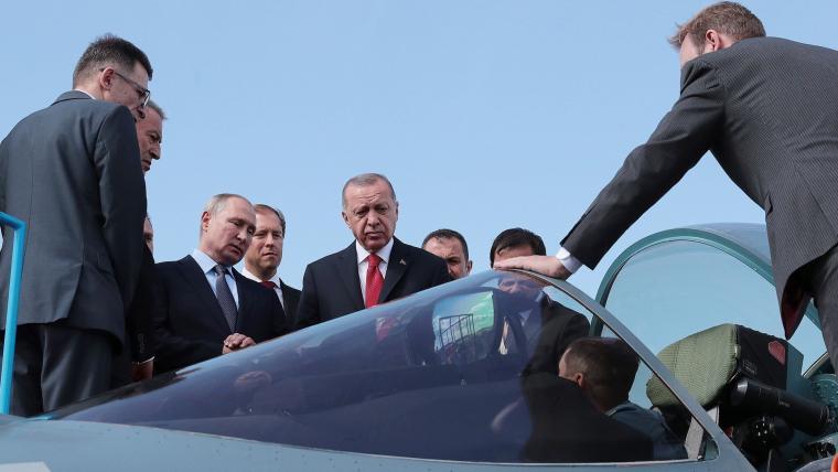Πούτιν και Εργντογάν