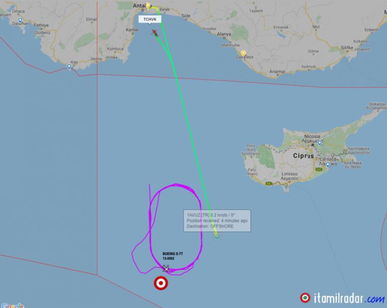 Οι θέσεις των τουρκικών ναυτικών δυνάμεων στο Αιγαίο - Κατασκοπευτικά στέλνει η Άγκυρα πάνω από Yavuz - Εικόνες, Βίντεο....