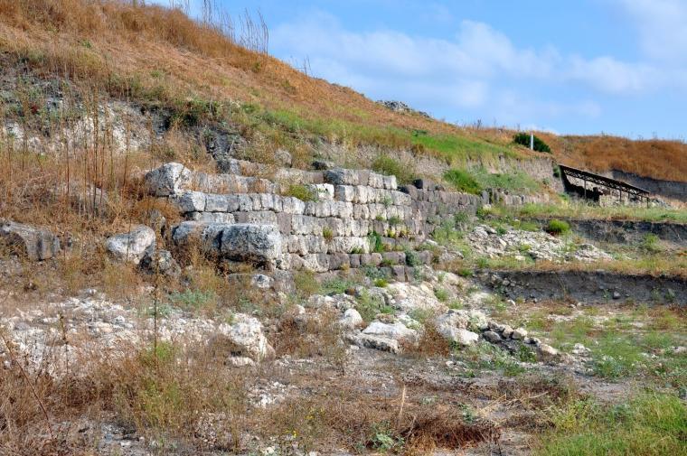 τείχη της αρχαίας πόλης