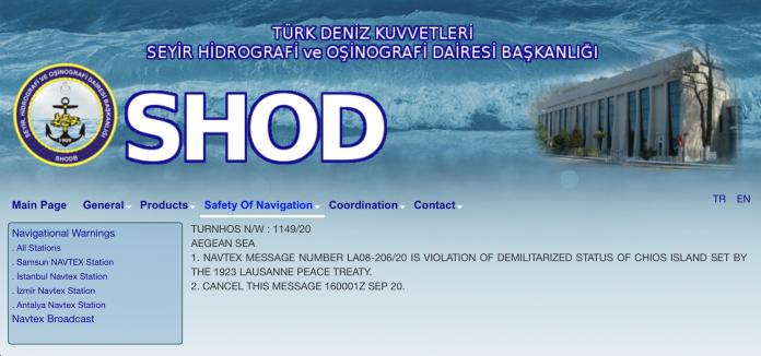 τουρκική Navtex