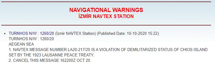 """""""Φωνάζουν"""" οι Τούρκοι  μέσω NAVTEX - Τρομοκρατία από τον Ερντογάν - """"Κλείνει τα αυτιά"""" της η Αθήνα;....."""
