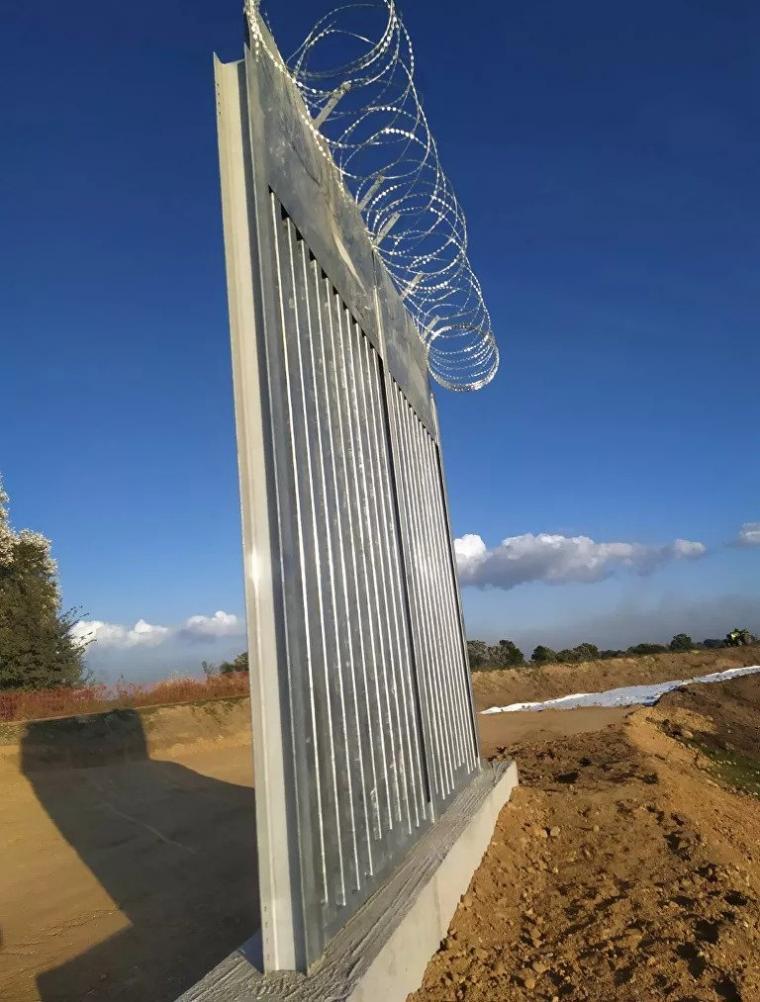 νέος φράχτης στον Έβρο