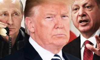 Ερντογάν, Τραμπ, Πούτιν