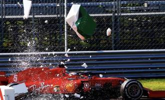 ατύχημα της Ferrari