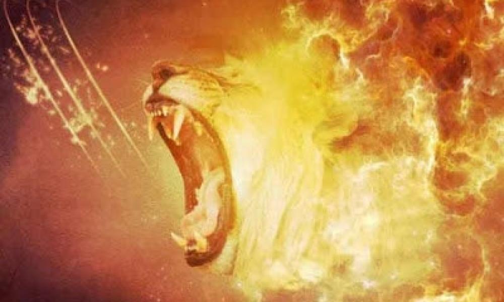 Ὁ ἀντίδικος ὑμῶν διάβολος ὡς λέων ὠρυόμενος περιπατεῖ ζητῶν τίνα ...