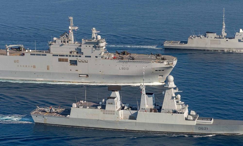 Γαλλική ''ασπίδα'' σε Αιγαίο-Α. Μεσόγειο: ''Στείλαμε τα πλοία μας για να προστατεύσουμε τον Ελληνισμό''