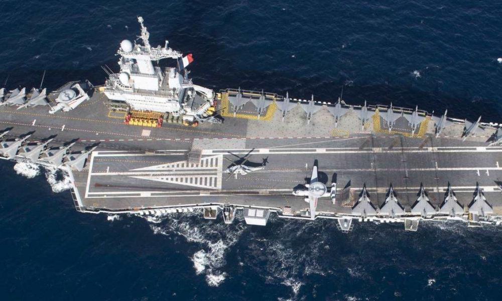 Γαλλικά ΜΜΕ: ''Ο Μακρόν στέλνει το Charles de Gaulle στην Α. Μεσόγειο λόγω Τουρκίας''