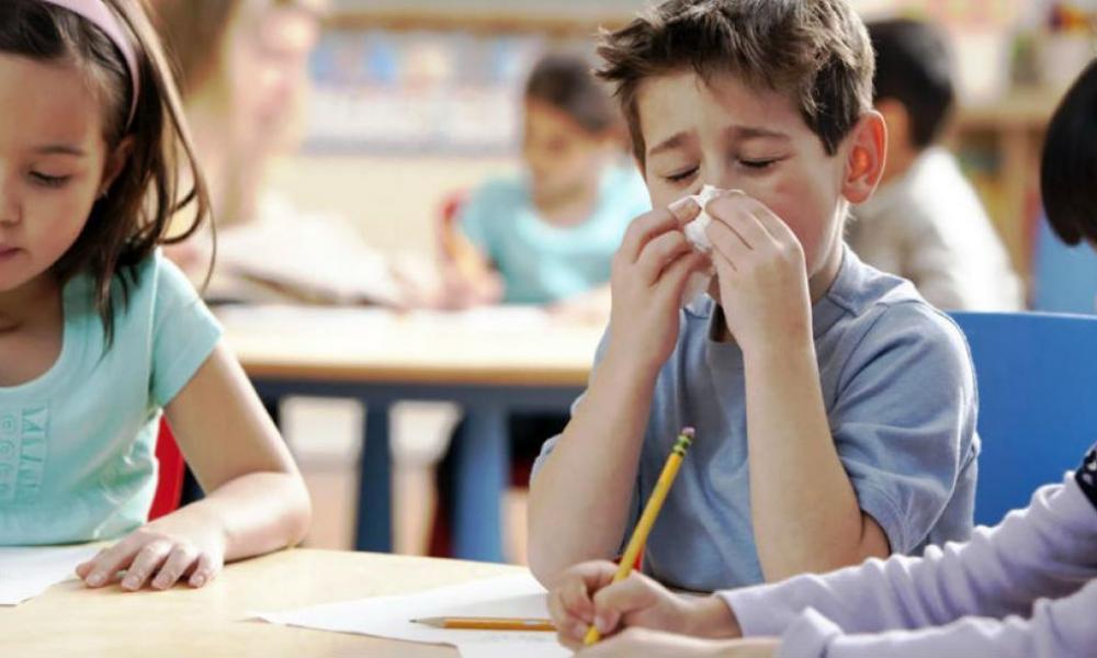 γρίπη παιδί σχολείο