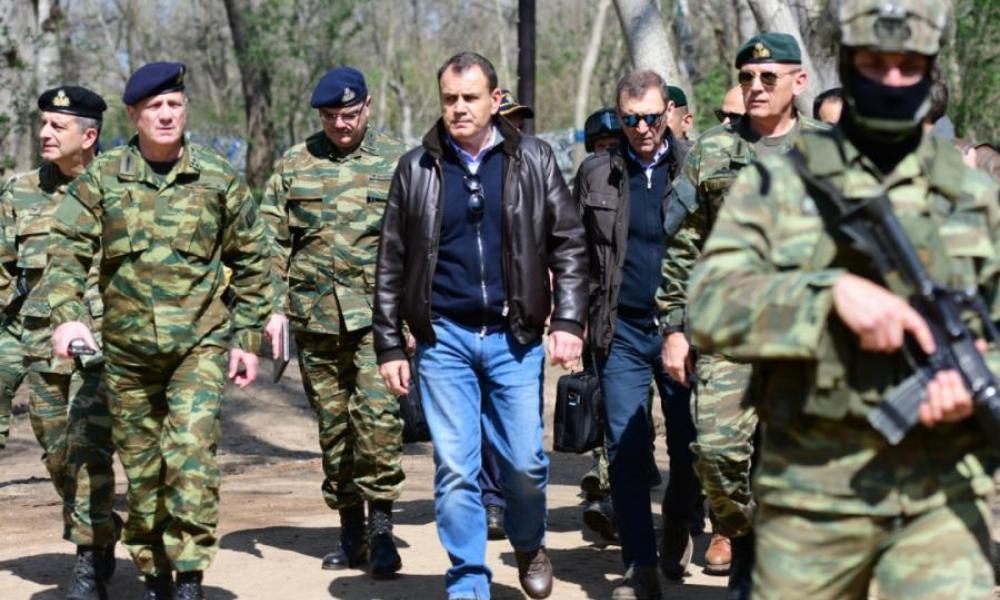 """Παναγιωτόπουλος: """"Είμαστε έτοιμοι και για στρατιωτική εμπλοκή με την Τουρκία"""""""