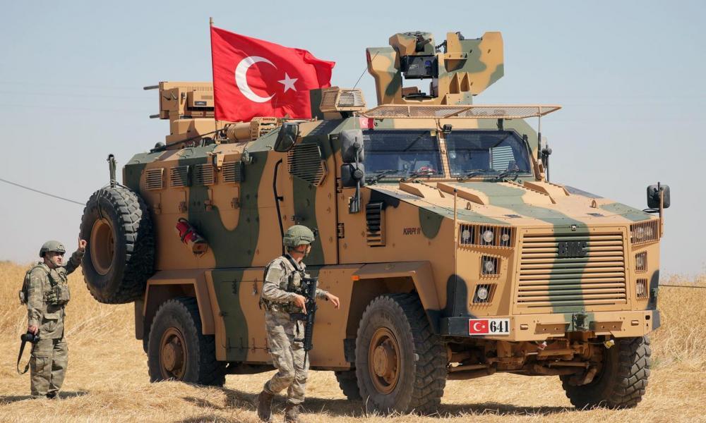 Τούρκοι Συρία