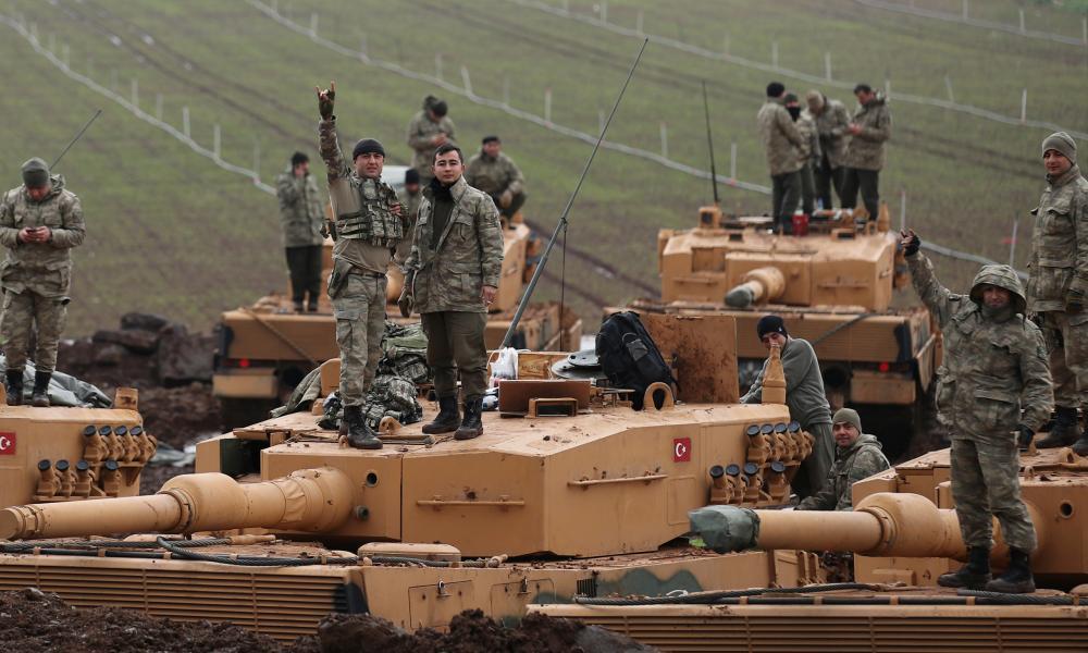 Τούρκοι, Συρία