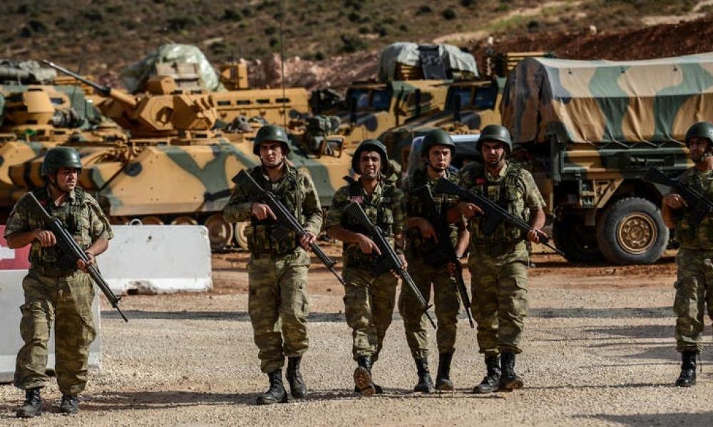τουρκικός στρατός, Συρία