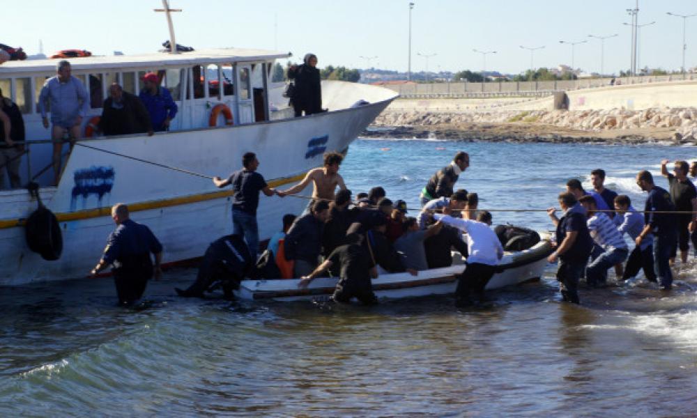 Μετανάστες στο Αιγαίο