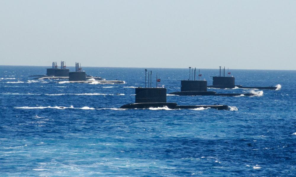Τουρκία, υποβρύχια