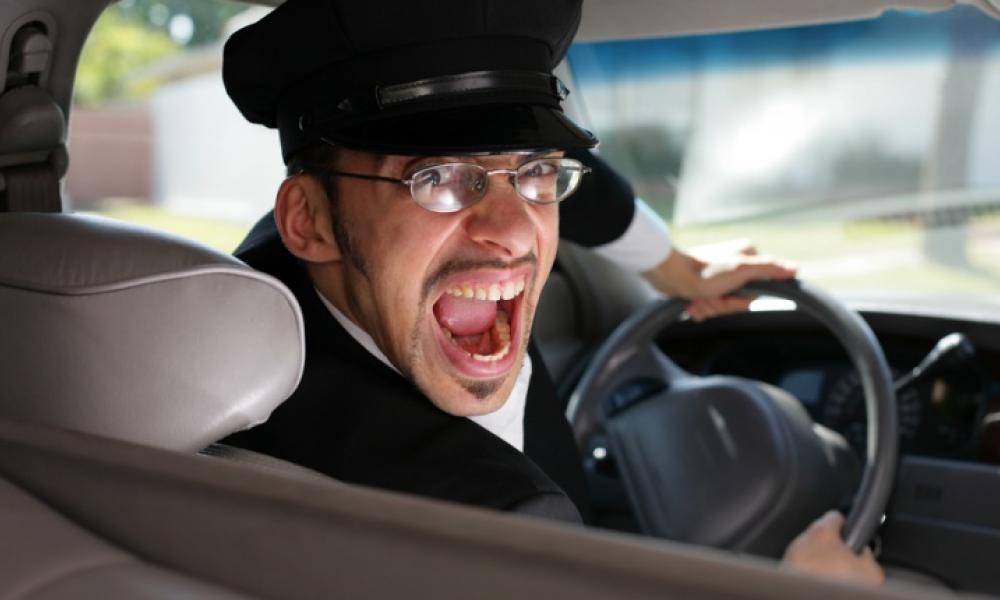τρελός οδηγός