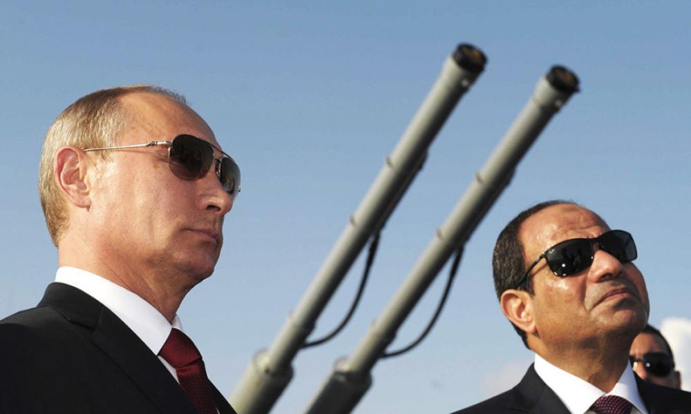 """Συντονίζονται Πούτιν-Αλ Σίσι: """"Κοινή αποφασιστικότητα για Λιβύη"""""""