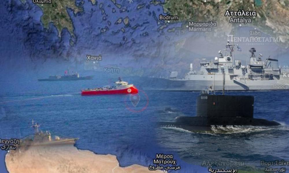 Η εντολή στις ΕΔ σε περίπτωση κρίσης στην Α. Μεσόγειο: ''Κόψτε τα καλώδια στο τουρκικό ερευνητικό''