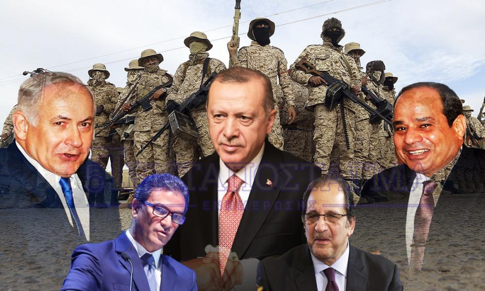 H συνάντηση που ανατρέπει τα πάντα: Συντονισμός Ισραηλινών & Αιγυπτιακών μυστικών υπηρεσιών για Λιβύη