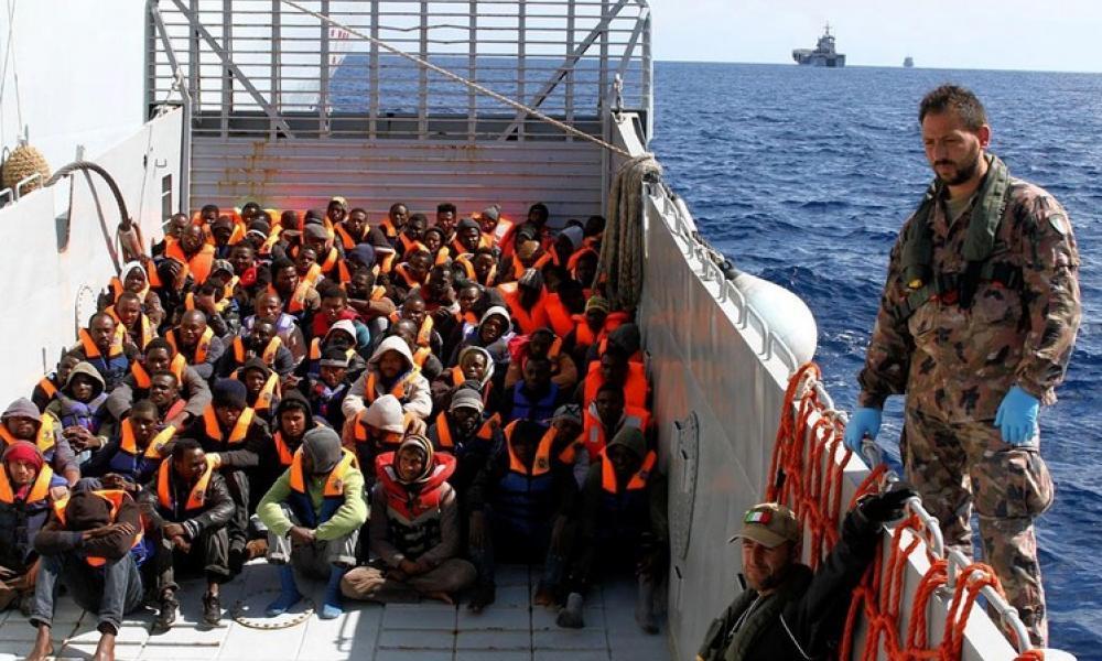 """Ιταλία: """"Χρειάζεται ναυτικός αποκλεισμός της Τουρκίας στη Λιβύη"""""""