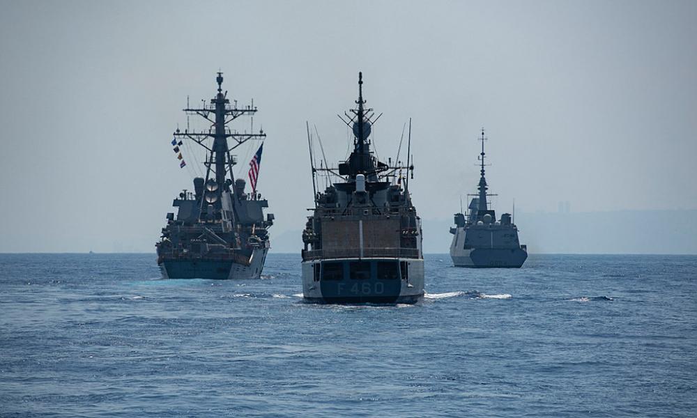 """Ισραηλινή """"ασπίδα"""" στην Α. Μεσόγειο: Στρατιωτικές ασκήσεις του ΠΝ νότια της Κύπρου"""