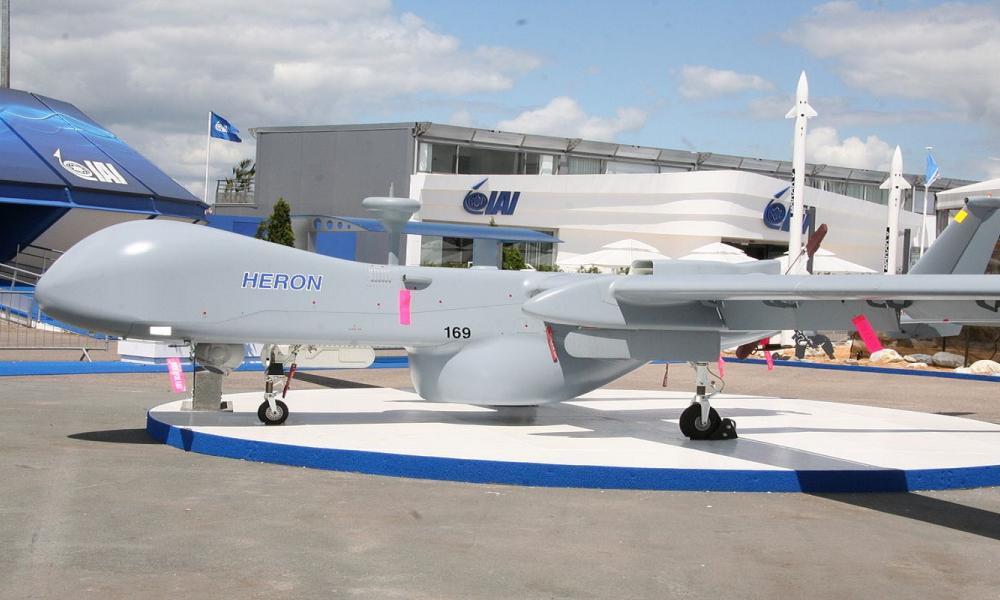 """Τουρκικά ΜΜΕ: """"Οι Έλληνες εκπαιδεύονται στα UAV Heron"""""""