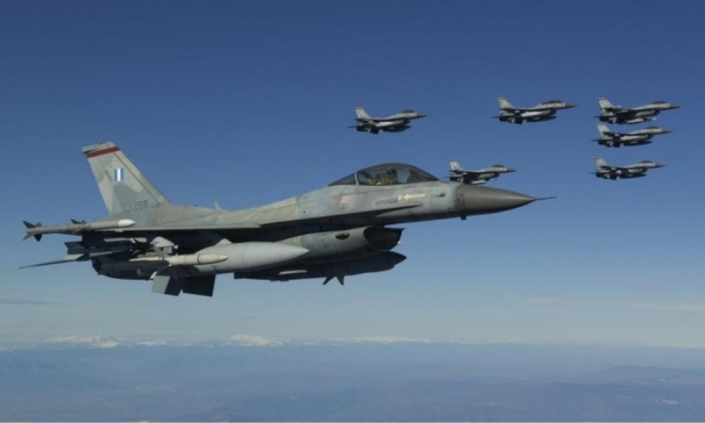 Τέσσερα ελληνικά F-16 στη Γαλλία θα συμμετέχουν στην αεροπορική άσκηση «VOLFA»