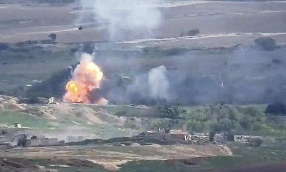 "Kαι δεύτερη πυροβολαρχία S-300 απώλεσε η Αρμενία - Στρατιωτική ""τανάλια"" επιχειρούν οι Τουρκο-Αζέροι με νέο μέτωπο από Ναχιτσεβάν!"