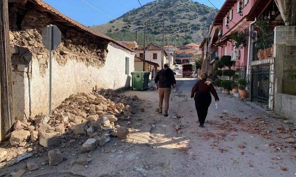 Μη κατοικήσιμα 520 σπίτια στην Ελασσόνα μετά τον ισχυρό σεισμό