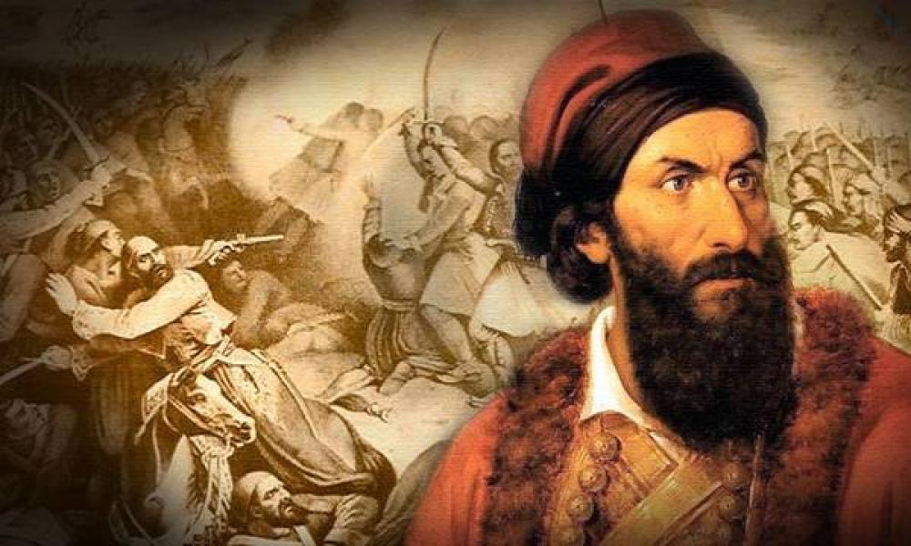 1825 - Παπαφλέσσας: Σαν σήμερα η μάχη στο Μανιάκι | Pentapostagma