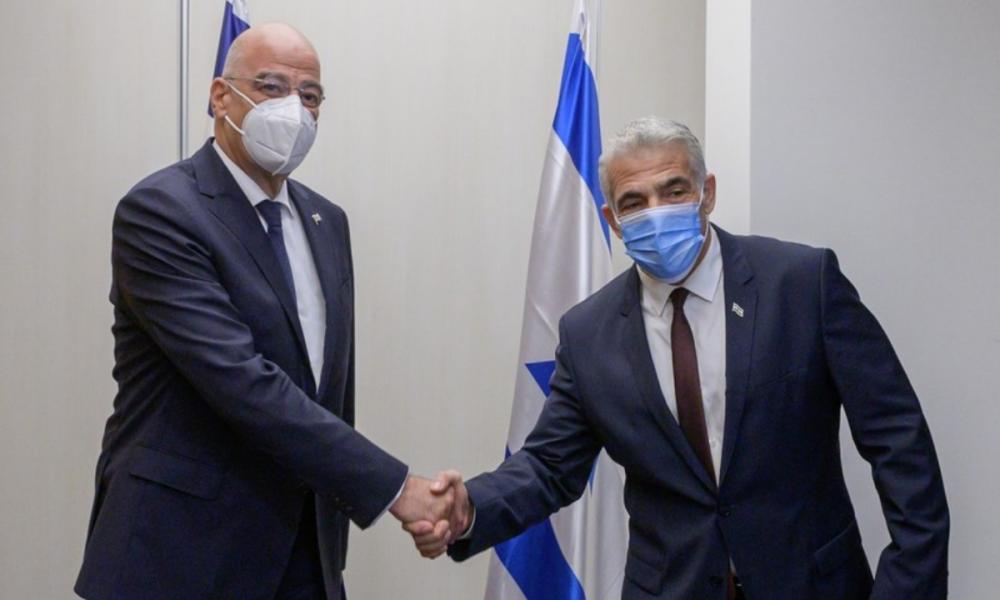 Νίκος Δένδιας: Στο πλευρό της Ελλάδας το Ισραήλ για το κυπριακό