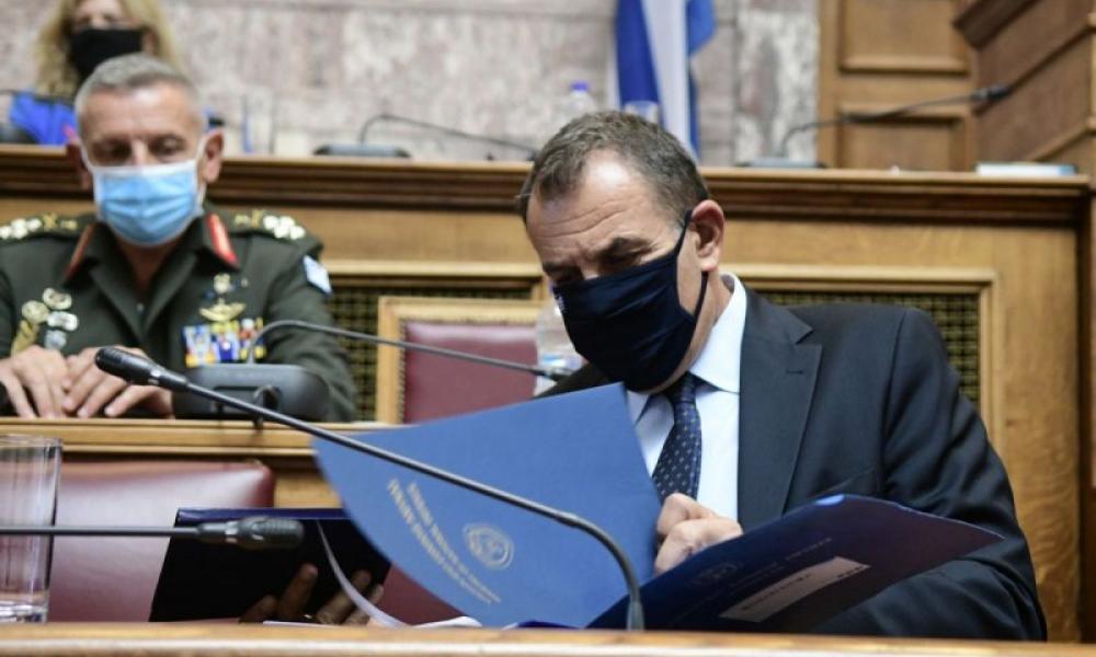 """Αμυντική """"ομπρέλα"""": Με ανοιχτά χαρτιά αύριο στη Βουλή ο Παναγιωτόπουλος για την έγκριση πέντε εξοπλιστικών προγραμμάτων"""