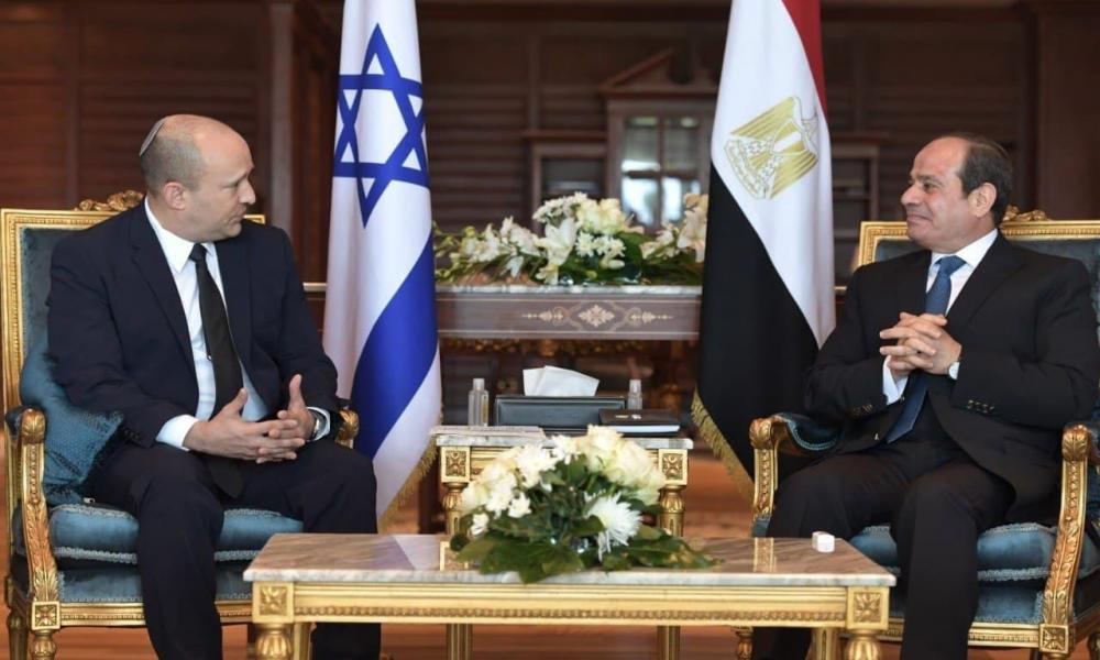 """Μπένετ-Αλ Σίσι με κύριο """"μενού"""" την Τουρκία - """"Τελειώνει"""" η Άγκυρα όταν δέσει η ισραηλινο-αιγυπτιακή στρατιωτική συνεργασία"""