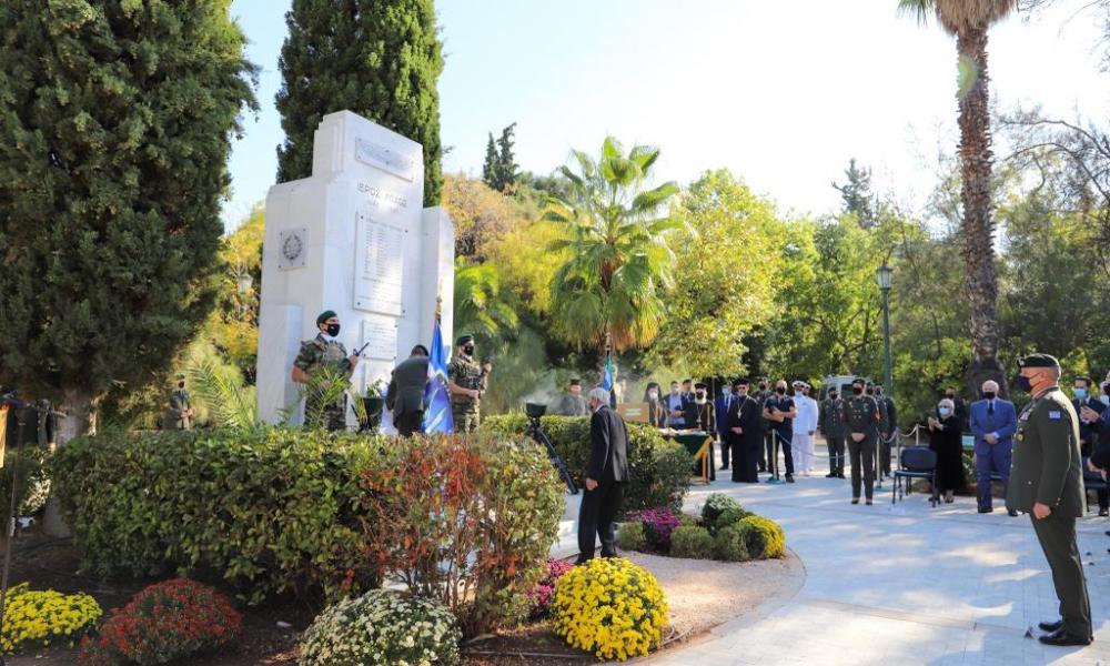 Ετήσιο Μνημόσυνο Πεσόντων Ιερολοχιτών Μέσης Ανατολής