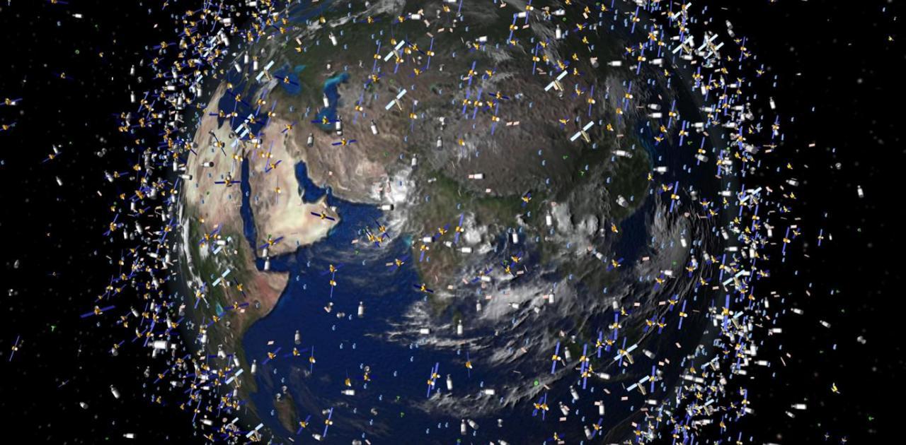 500.000 διαστημικά σκουπίδια γύρω από τη Γη - Αναπόφευκτα τα ατυχήματα -  Δείτε το βίντεο   Pentapostagma