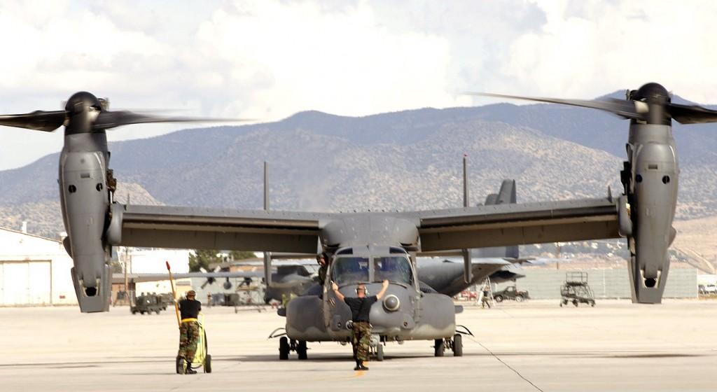 Άσκηση των Ειδικών Δυνάμεων της Ελλάδος και ΗΠΑ όπου επιχειρούν τα CV-22
