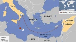 Δυτικά της Κρήτης θα καταστραφούν τα χημικά της Συρίας