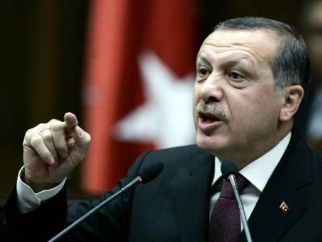 Ερντογάν Δεν υπάρχει Κύπρος