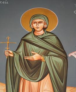 Η αγία Παρθένα η Εδεσσαία (9 Ιανουαρίου)