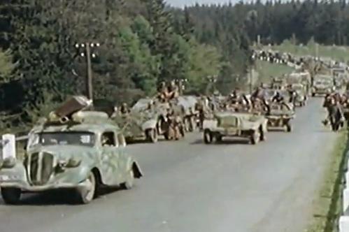 Η παράδοση των Γερμανών στα Αμερικάνικα στρατεύματα