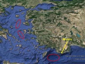 Οι Τούρκοι στο Αιγαίο