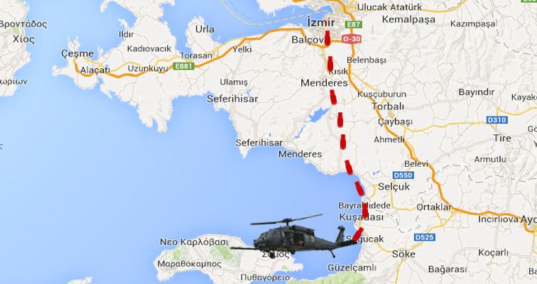 Τουρκικού Ελικοπτέρου AS-532 Cougar