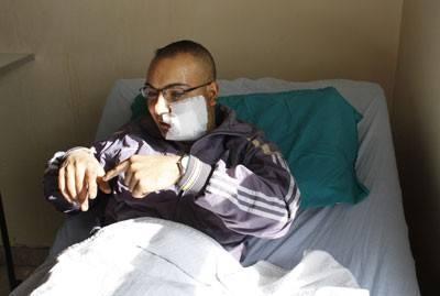 Ο αυτόπτης περιγράφει από το νοσοκομείο  τη σφαγή του φίλου του