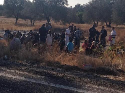 μετανάστες-συρία