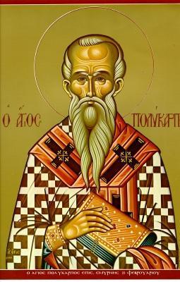 O αγιος Πολυκαρπος