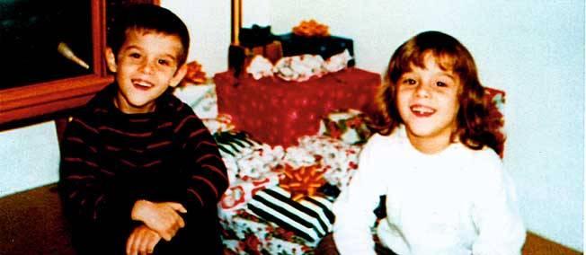 Τα δίδυμα αδέρφια σε ηλικία 6 ετών