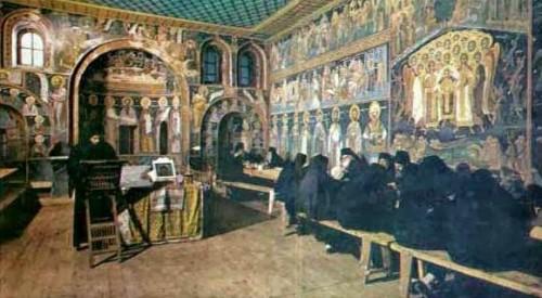 Αγιορείτες μοναχοί και διατροφικοί κανόνες