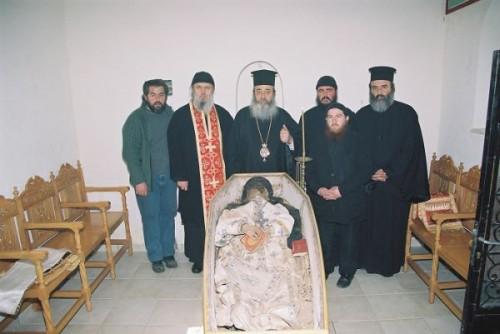 ΜΝΗΜΗ ΑΝΑΚΟΜΙΔΗΣ ΙΕΡΟΥ ΛΕΙΨΑΝΟΥ ΓΕΡΟΝΤΟΣ ΒΗΣΣΑΡΙΩΝΟΣ ΤΟΥ ΑΓΑΘΩΝΙΤΟΥ-3 ΜΑΡΤΙΟΥ 2006