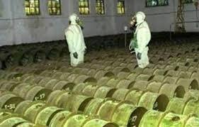χημικά Συρίας προς μεσόγειο